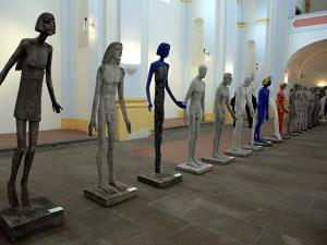 Díla Olbrama Zoubka teď najdete nejen před radnicí ale i v galerii