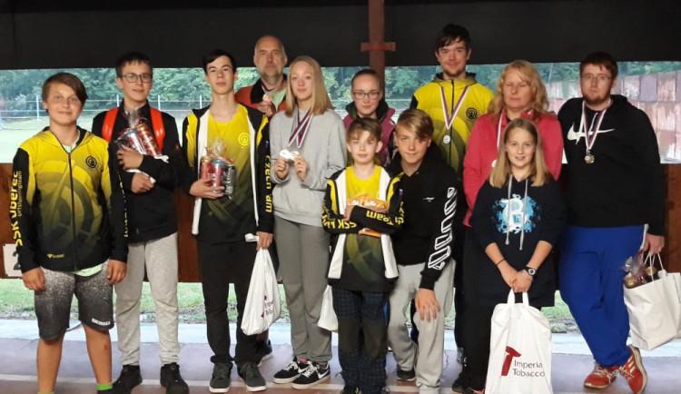 Střelci z republikového šampionátu přivezli sedm medailí