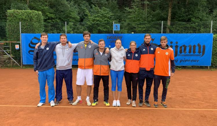 Tenisový úspěch. LTK Liberec je mistrem první ligy