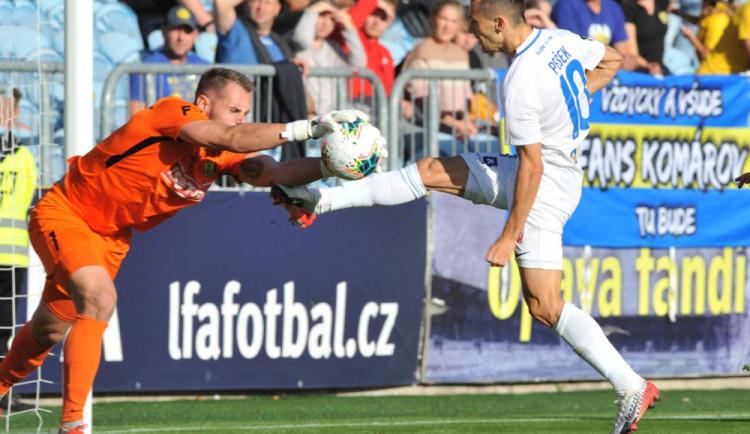 Slovan v Opavě vedení neudržel, do Liberce veze bod po výsledku 1:1