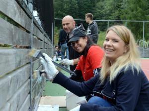 Zlepšit vzhled Liberce přijeli dobrovolníci z celého Česka i Slovenska, odmakali 750 hodin