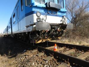 Vlaky u Liberce se zastavily kvůli údajnému střetu s člověkem. Ten z místa utekl
