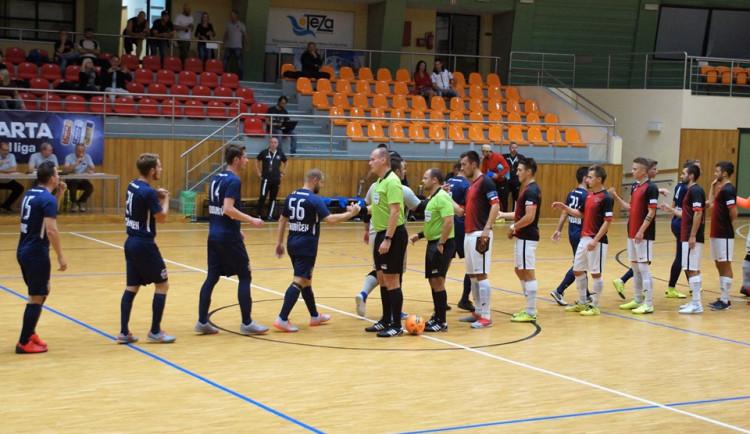 Futsalisté vyloupili nováčka. Zápas otočili čtyřmi góly ve druhé půli