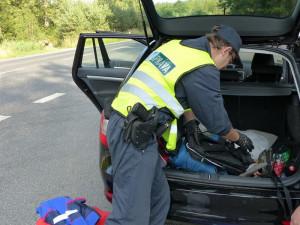 Celníci v Hrádku zadrželi řidiče. V autě vezl kilo léků k výrobě pervitinu