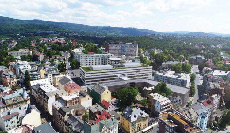 Nový pavilon liberecké nemocnice měl stát 1,2 miliardy, nakonec vyjde na dvojnásobek. Zaplatí ho hlavně kraj