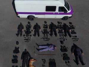 FOTO: Tetris challenge dobývá Evropu. Přidala se i rýnovická věznice