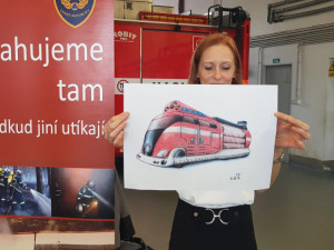 Celostátní hasičskou výtvarnou soutěž vyhrála Vivien z Libereckého kraje
