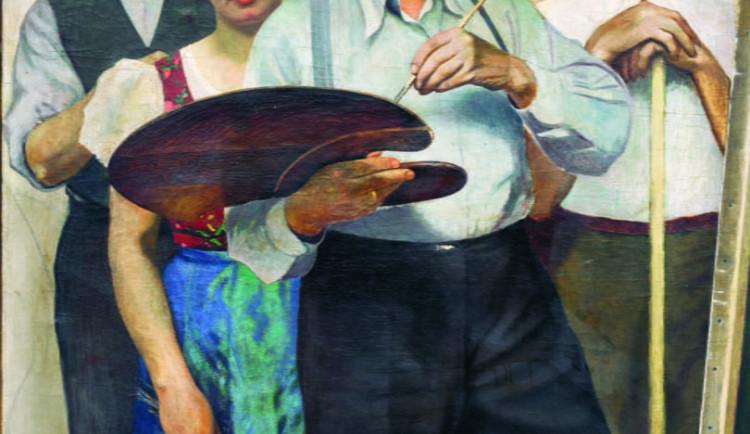 Sedlák a malíř v jednom. Nenechte si ujít jedinečnou výstavu Paula Gebauera