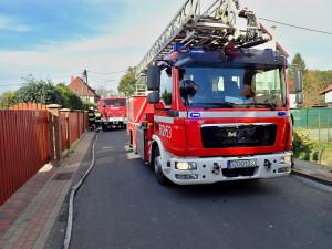 Hasiči z Frýdlantu a Raspenavy pomohli polským kolegům při požáru domu