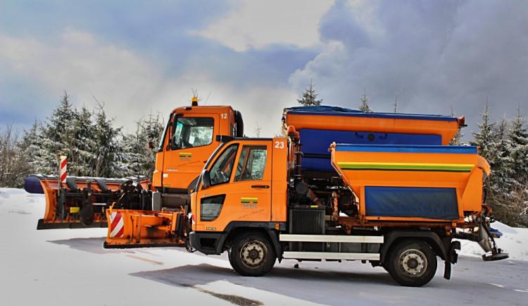 Zima se pomalu ale jistě blíží. Liberecké Technické služby jsou ale připraveny