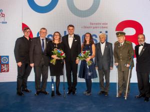 Pocty hejtmana se letos dočkala plavkyně Pechová nebo válečný veterán Haisler