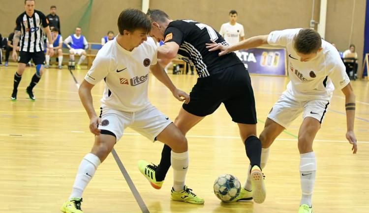 Futsalisté nestačili na nováčka z Budějovic. Z jihu Čech vezou prohru 2:5