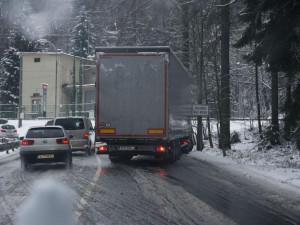 Meteorologové varují před sněžením, napadnout může až pět centimetrů mokrého sněhu