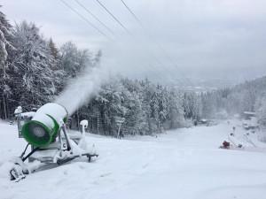 Skiareál Ještěd před sezonou zamakal na vylepšení gastroprovozu a cvičiště