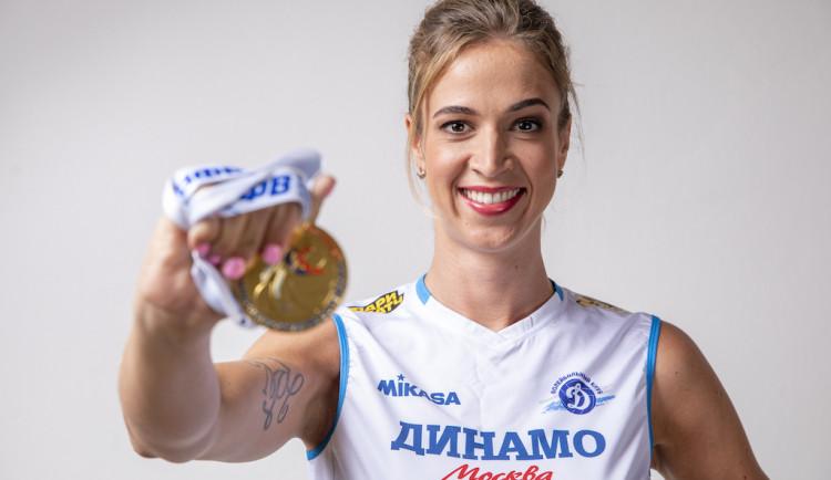 Liberec je mojí součástí, říká nejlepší česká volejbalistka Helena Havelková