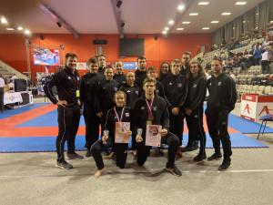 Karatisté z Gryfu vybojovali na republikovém mistrovství čtyři medaile
