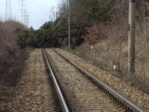 Kvůli popadaným stromům nejezdí vlaky na Jablonecku