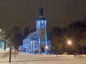 Kostel ve Vratislavicích je opět čistý. Městský obvod z něj nechal odstranit graffiti