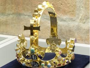 Poslední možnost. V turnovském muzeu končí výstava repliky koruny Karla Velikého