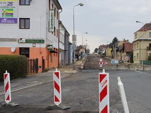 V Turnově bude od středy pokračovat rekonstrukce silnice