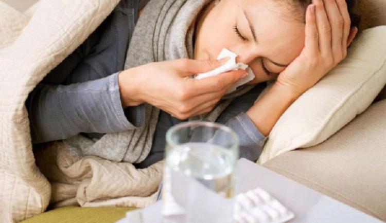 Nemocnost v kraji je pod epidemickým prahem, jeden člověk zemřel