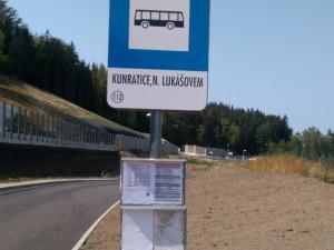Zastávka u Silky v Jablonci se přesouvá kvůli opravě plynovodu