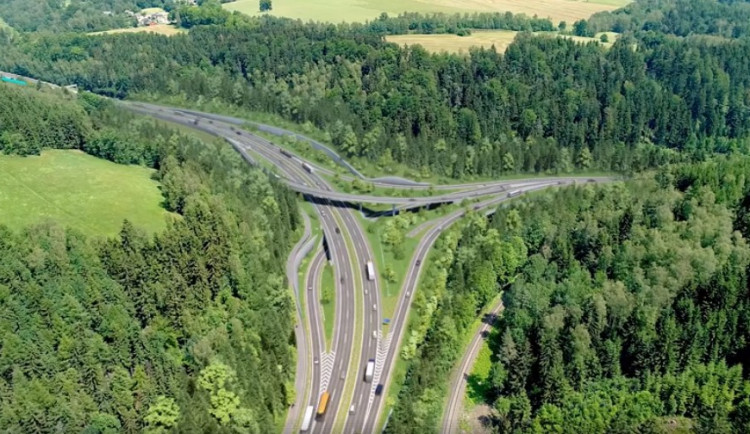 Kraj má výhrady proti plánované rekonstrukci Rádelského mlýna. Ředitelství silnic a dálnic se brání