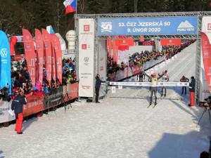 Vítězem Jizerské 50 se stal Andreas Nygaard. Mezi Čechy dojel nejlépe Jiří Pliska