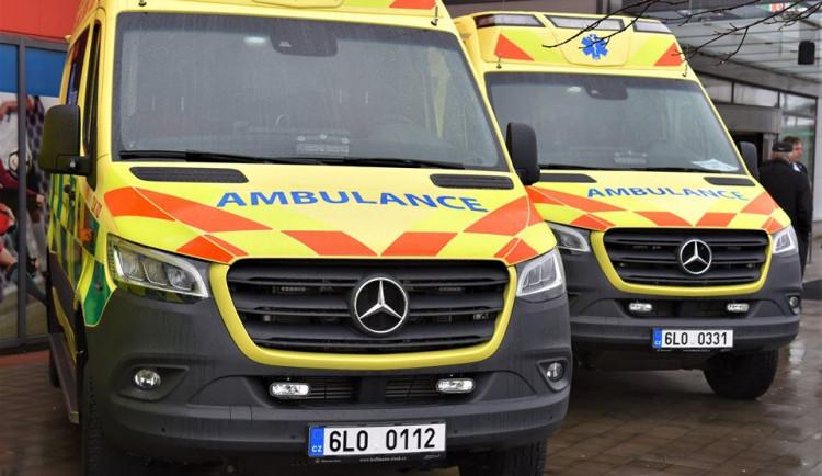 Liberecká záchranná služba si pořídila deset nových vozů