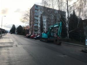 Opět se uzavře Liberecká ulice v Hrádku. Začne rekonstrukce kanalizace a vodovodu