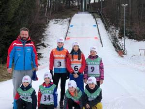 Nejedlová a Štěpánková z SK Ještěd vítězí v dalších závodech ve skoku na lyžích