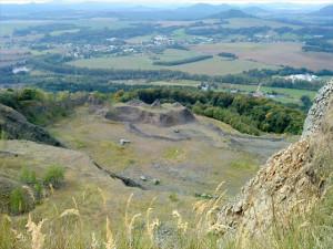 Jedině odepsání kamene na Tlustci zabrání obnově těžby. Kraj se obrací na ministerstvo