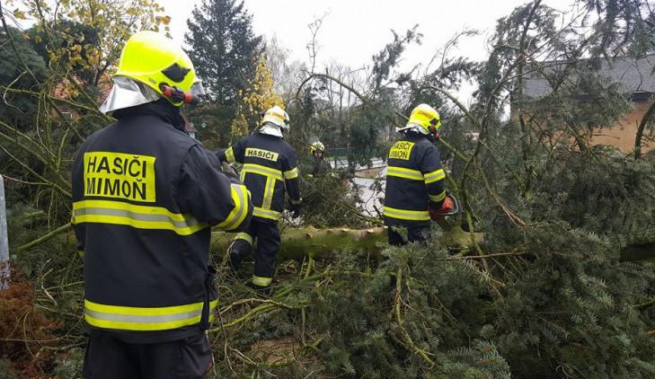 Na Liberecký kraj se opět žene vítr. Varování platí od páteční noci