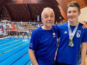 Ploutvový plavec Matyáš Kubíček na světovém poháru přepisoval rekordy