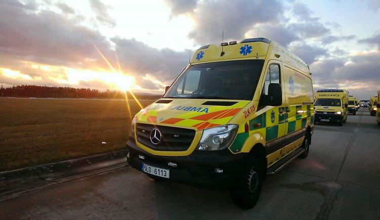 Záchranáři vyjížděli loni k téměř 52 tisícům událostí a ošetřili přes 53 tisíců pacientů