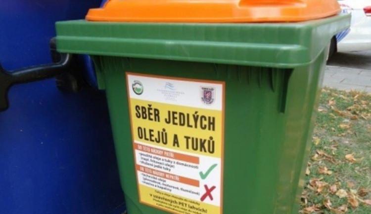 Hejnice pořídily kontejnery na použité tuky a oleje