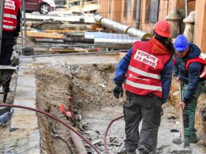 Ulice Na Hůrce v Chrastavě se dočká oprav vodovodu a popraskané kanalizace