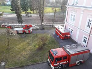 Stanice hasičů v Semilech, kde se objevil koronavirus, funguje opět v běžném provozu