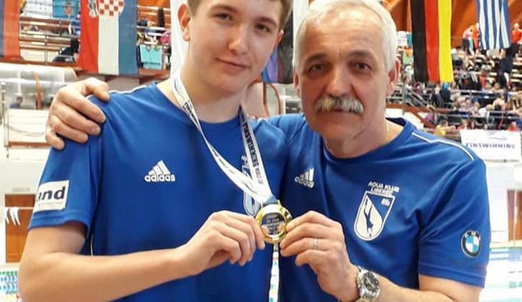 Jsem ambiciózní, medaile a tituly jsou mým cílem vždy, říká trenér ploutvových plavců Vladimír Beneš