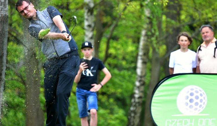 Ve výzvě o nejlepšího českého golfistu na Ypsilonce porazil Lieser Matuše