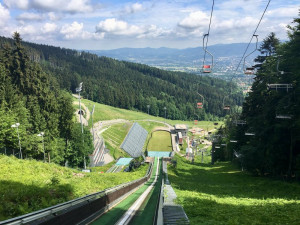 Liberecké skokanské můstky se v nejbližší době oprav zřejmě nedočkají. Město dotaci nedostalo