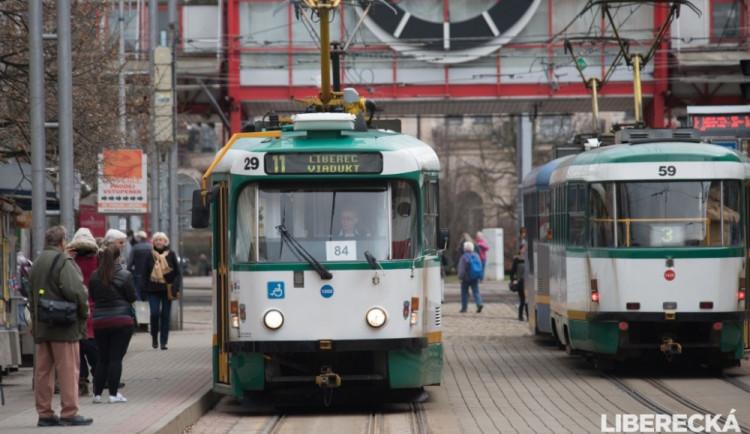 Po víkendu zase začnou jezdit tramvaje až do Jablonce