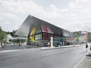Terminál s podzemním parkovištěm v Jablonci vyroste do léta 2023