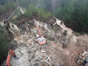 Na demolici dalších objektů v Ralsku podá kraj žádost o dotaci
