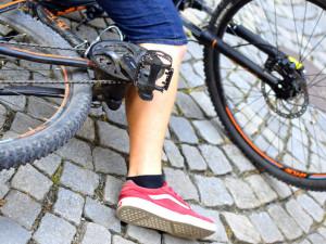 Cyklista ve Velkých Hamrech se střetl s kočkou, která mu vběhla do cesty
