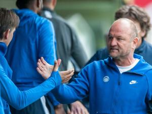 Do zápasu nás vrátila penalta, řekl trenér Slovanu Pavel Hoftych