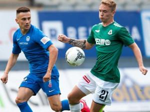 Slovan díky brance Malinského vyhrál derby v Jablonci. V ligové tabulce už je třetí