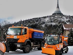 Liberec na letošní zimní údržbě ušetřil. Náklady byly skoro poloviční