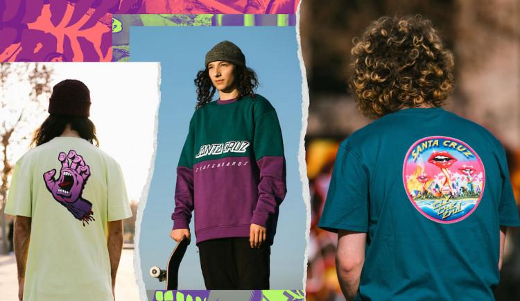 SOUTĚŽ: Vyhraj dámské a pánské triko Santa Cruz z prodejny Snowbitch Liberec