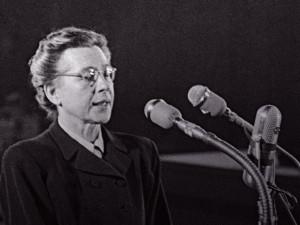 Přečtěte si příběh Milady Horákové, ženy, kterou nezlomila válka, nacisté, ani komunisté